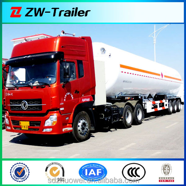 China 2014 good Quality 3 axles lpg tanker truck trailer / tri-axle liquid petrol gas tank semi-trailer / tank semitrailer