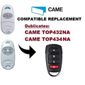 CAME Garage Remote control Cloning Universal Electric Gate Fob 433mhz YET084