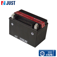 High performance 12v 9ah mf lead acid motorcycle battery