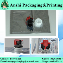 1L/3L/5L/20L/200L/220L foil,plastic aseptic bag with valve in box liquid pouch for juice/red wine/oil/egg