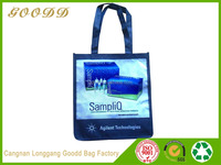 Factory directly promotional pp laminated non woven tote shopping bag
