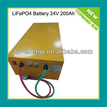 lifepo4 truck battery 24v 200ah