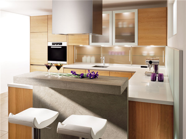 Ritz customized kitchen cabinet laminate materials buy for Kitchen cabinets 700mm