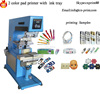 2 color pad printing machine for T-Shirt cup pen LC-PM2-150