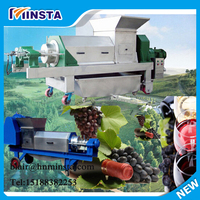 automatic fresh squeezed passion lime/mango/grape/ginger fruit juice extractor/extracting