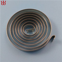 Stainless steel wind up spring , rewind spring , motor spiral spring for sale