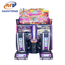 Hot Outrun Coin Operated Racing Car Simulator Arcade Car Driving For Two People