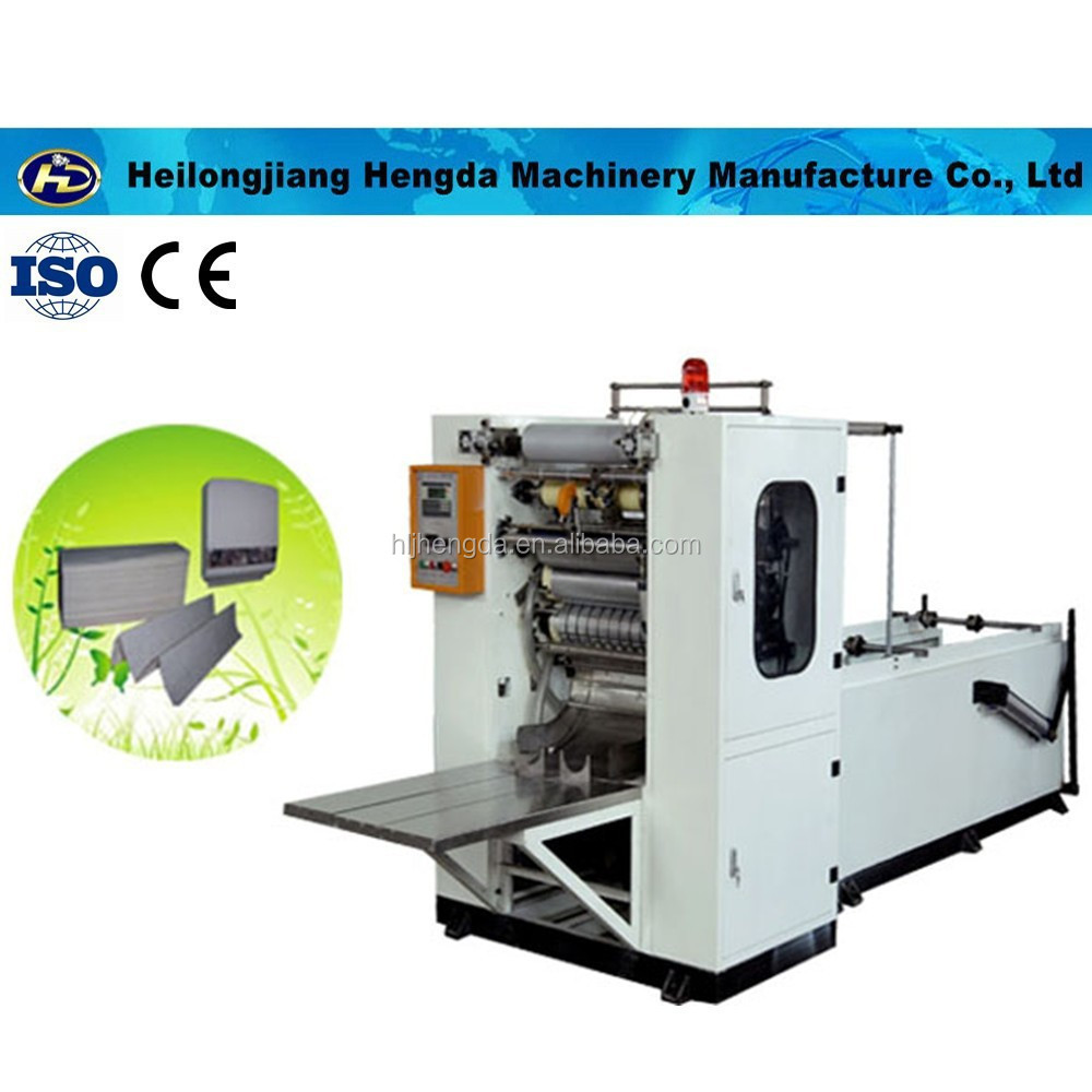 Low Price M folding Automatic hand paper towel making machine factory