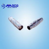 IP50 2B series 14 pin male female connector