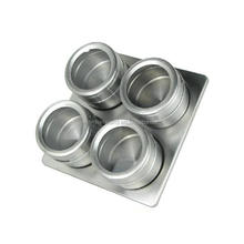 Wholesale Hot Selling Magnetic Airtight Stainless Steel Spice Jar