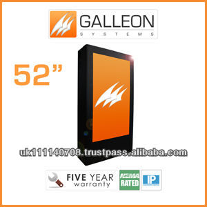 "52"" Portrait Outdoor Waterproof TV Box from Galleon Systems"