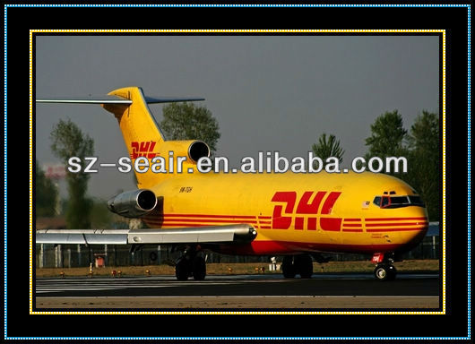 China international express DHL from Guangzhou to Haiti