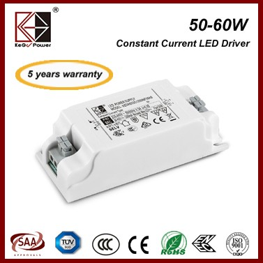 KEGU Single Output Type 50W 1050mA ENEC led power supply
