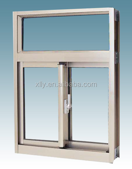 China manufacture Aluminum Extrusion Profiles Window Track for Sliding Windows