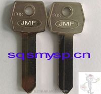 F215 brass old auto Blank key for For-d car locksmiths