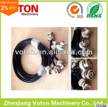 stocking BNC PLUG TO BNC PLUG RG-59 connector coaixal CABLE assembly