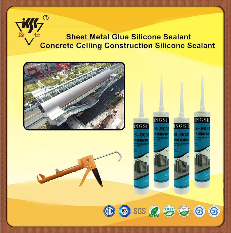 Sheet Metal Glue And Concrete Celling Construction Silicone Sealant