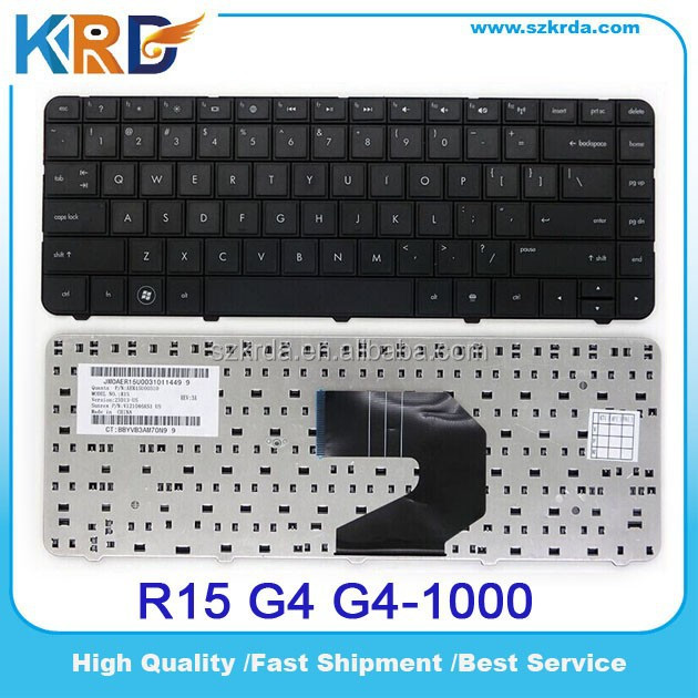 Wholesale Spanish Italian Russian French UK US keyboard for HP G4 G6 CQ43 CQ57 G4-1000 G6-1000 Laptop keyboard