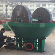 High Efficiency Double Rollers Wet Pan Mill with Good Quality