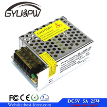 DC5V 5A 25W LED driver Switch Power Supply Transformer For Led Strip module