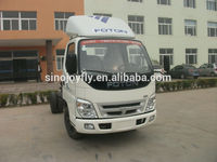 foton delivery valve africa hot sale van/box truck