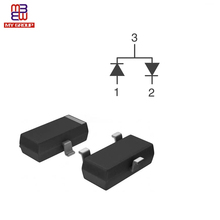 Electronic Active Components Diodes Rectifiers Arrays 30V SOT23-3 BAT54S SCHOTTKY Diodes in Stock