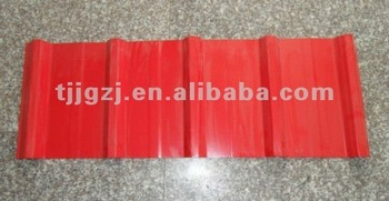 Prepainted galvanized trapezoid steel roofing sheets/building material