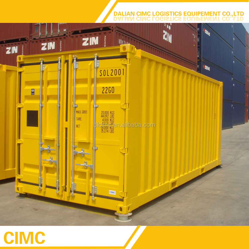 PLT-326 ISO 40ft High Cube Shipping Container Price