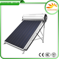 New Design Non Pressure Panel Solar Water Heater Solar Water Heater Brand Names