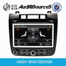 8 inch touch screen auto dvd headrest for volkswagen touareg navigation system with bluetooth OPS IPAS door cue car infor