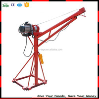High Quality Construction Mini Portable Small Electric Crane