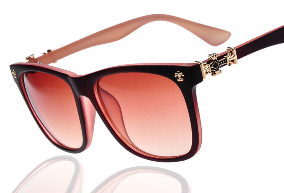 Vintage Retro Square Style Women Brand Designer 2015 Hot Summer Sale High Promotion Best Quality Sunglasses For Women Style