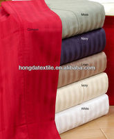 100%cotton 400TC bed sheet set fabric for home textile