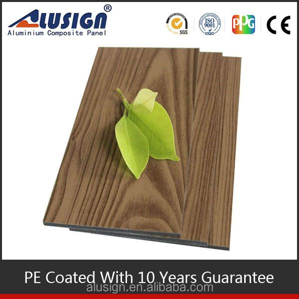 Alusign 2014 new interior wooden wall cladding panels