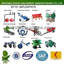 Alibaba China supplier cheap farm tools and equipment and their uses for walking tractors / power tillers of sale !
