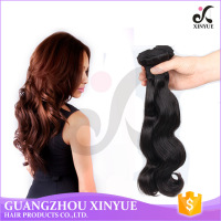 High Quality 100% Virgin Indian Hair Extensions Loose Wave Natural Color Human Hair