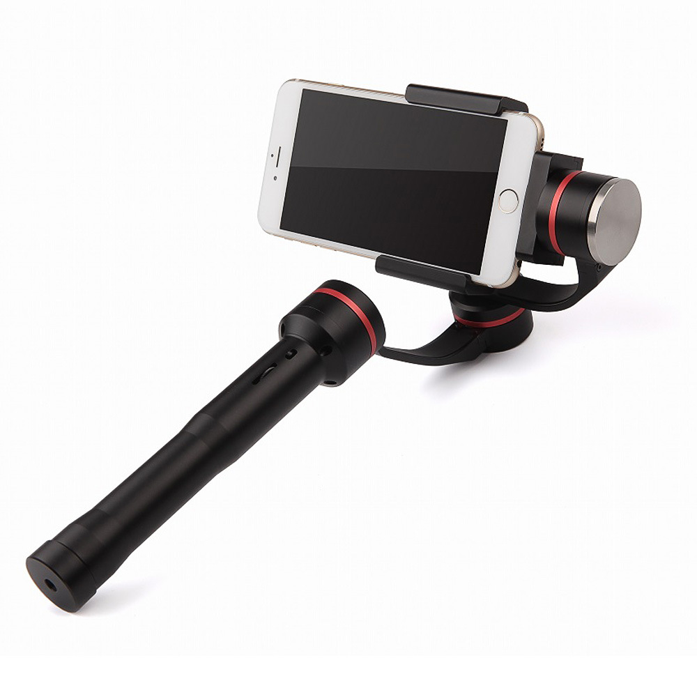 Action Camera Stabilizer 3 Axis Handheld Stabilizing Gimbal with 5-Way Joystick Control