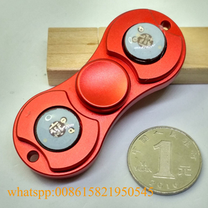 2017 newest led lighting hand fidget spinner toy most popular LED spinners