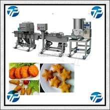 High Automatic Mini Model Easy Clean Hamburger Production Line