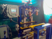 Hight speed hot air sealing machine _PLC Controlled