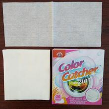 OEM brand laundry helper dyes expert sheets color catcher for laundry washing