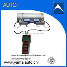 hand-held ultrasonic transducer flow meter portable ultrasonic flow meter made in China