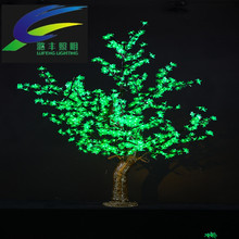 Indoor/Outdoor high 1.8m big PVC artificial giant led christmas tree for steet decoration
