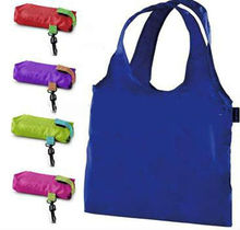 New collection promotion polyester shopping foldable duffle bag