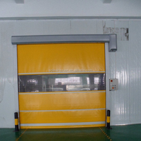 Automatic industrial high speed pvc roll up doors