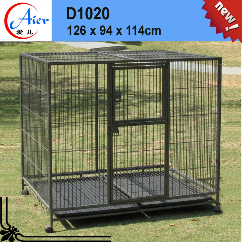 Good after-sales service dog cage aluminium