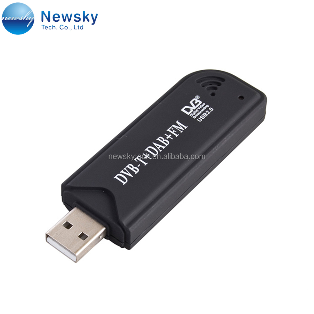 USB Digital TV Tuner DVB-T RTL2832U SDR transceiver FM DAB Stick