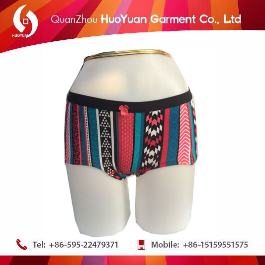 China Factory OEM Fancy Design Cotton Spandex New Fashion Underwear for Sexy Lady and Girls