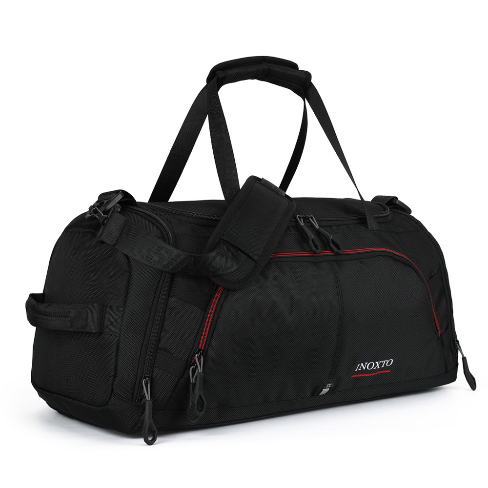 Weekender Overnight Duffel Bag with Shoes Compartment for Women Men Weekend <strong>Travel</strong> Tote Carry On Bag