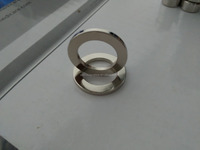 Can be customized Electronic Products neodymium ring magnet D19xd9.5x1.6mm